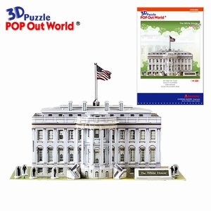 3D Puzzel: White house (het Witte huis)