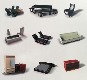 3D Puzzel: Dylan poppenhuis meubelset