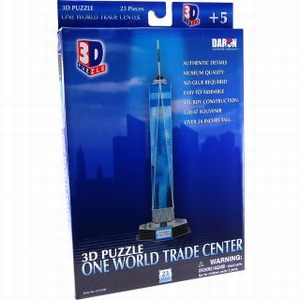 3D Puzzel: One World Trade Center (Cubic Fun)