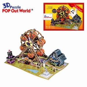3D Puzzel: Halloween Ferris Wheel