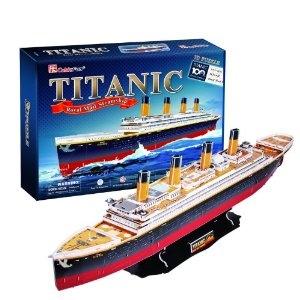 3D Puzzel: Titanic - groot (CubicFun)