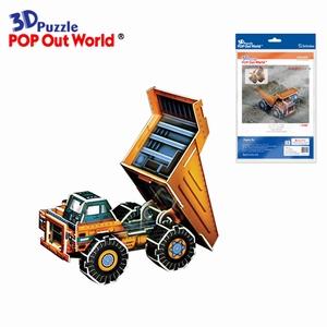 3D Puzzel: Dump truck
