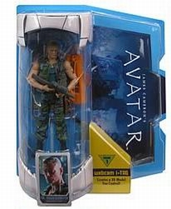 Avatar: Colonel Miles Quaritch (7 inch Movie Masters)