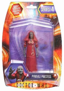 Doctor Who Pyrovile Priestess actiefiguur