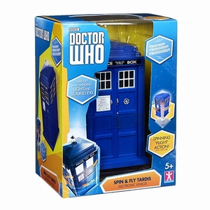 Doctor Who 11th Doctor Spin and Fly Tardis speelset