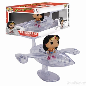 Funko POP! Rides 16 Wonder Woman The Invisible Jet