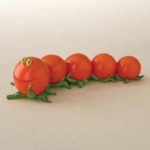 Home Grown Kers tomaatjes rups