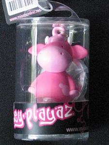 Key-Playaz sleutelhanger: Miss Makiato roze (70402)