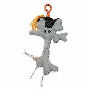 Giant Microbes Sleutelhanger Brain Cell (Hersencel) Graduation