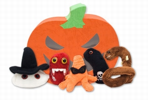 Giant Microbes Halloween box (mini microbe box)