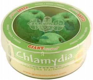 Giant Microbes Petri schaal Chlamydia trachomatis
