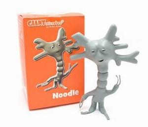Giant Microbes Vinyl figuur Noodle (hersencel)