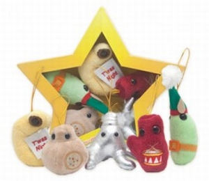 Giant Microbes Kerst ster (mini microbe box)