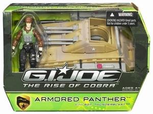 G.I. Joe: Armored Panther met Thunderblast actiefiguur