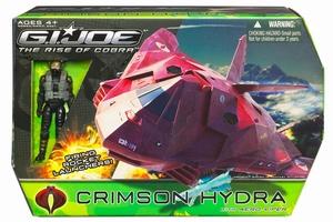 G.I. Joe: Crimson Hydra met Aero-Viper actiefiguur