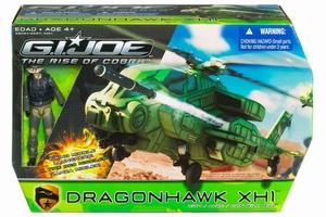 G.I. Joe: Dragonhawk XH1 met Wild Bill actiefiguur