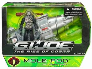 G.I. Joe: Mole Pod met Terra-Viper actiefiguur