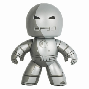 Mighty Muggs - Marvel - Wave 5 - Iron Man (Silver)