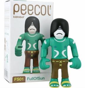 Peecol van Eboy: FS01 FullOfSun (Kidrobot)