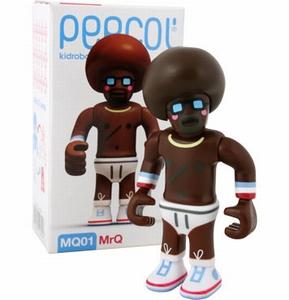 Peecol van Eboy: MQ01 MrQ (Kidrobot)