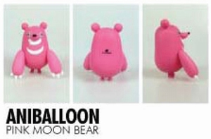 Little Trickers serie 1: Aniballoon (Pink Moon Bear)