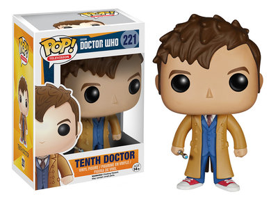 Funko POP! TV 221 Doctor Who 10th Doctor