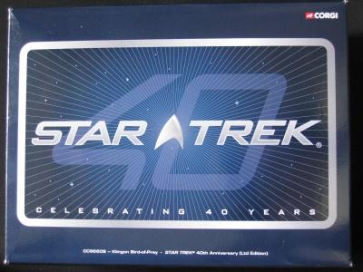 40 jaar Star Trek Klingon Bird of prey Limited Edition
