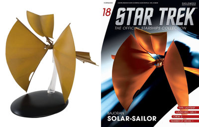 Star Trek Eaglemoss 18 Bajoran Solar Sailor