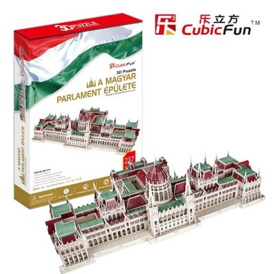 3D Puzzel: Hongaars parlamentsgebouw (Cubic Fun)