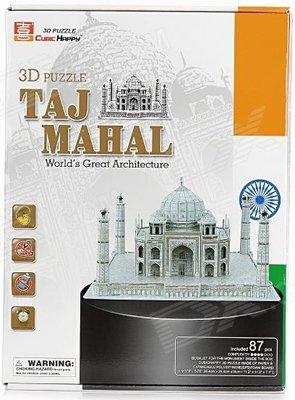 3D Puzzel: Taj Mahal (Cubic Happy)