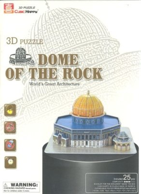 3D Puzzel: Dome of the Rock (Cubic Happy)