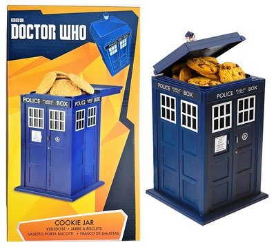 Doctor Who Tardis Cookie Jar (met licht en geluid)