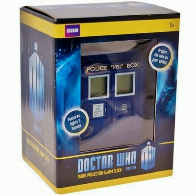 Doctor Who Tardis projectie wekker