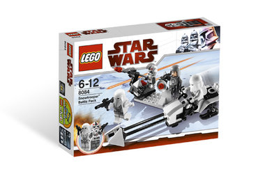LEGO 8084 Star Wars Snowtrooper Battle Pack