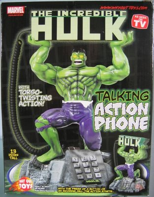 The Incredible Hulk Talking Action telefoon