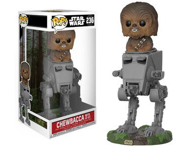 Funko POP! Star Wars 236 Chewbacca met AT-ST