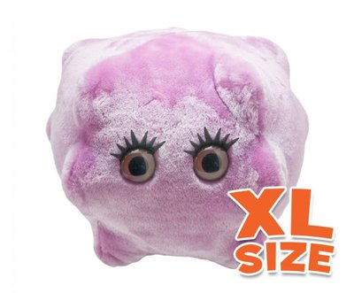XL Giant Microbes Kissing Disease