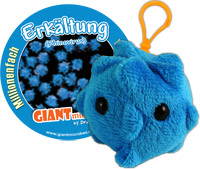 Giant Microbes Sleutelhanger Common Cold (Verkoudheid)