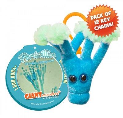 Giant Microbes Sleutelhanger Penicillin (Penicilline)