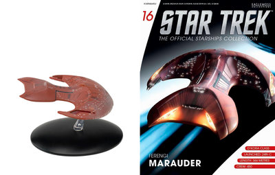 Star Trek Eaglemoss 16 Ferengi Marauder