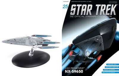 Star Trek Eaglemoss 25  U.S.S Prometheus NX-59650