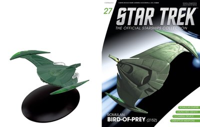 Star Trek Eaglemoss 27 Romulan Bird of Prey