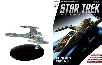 Star Trek Eaglemoss 41 Klingon Raptor