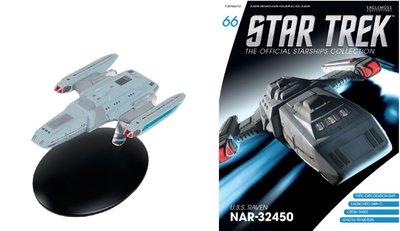 Star Trek Eaglemoss 66 U.S.S Raven NAR-32450