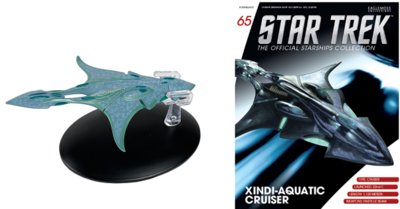Eaglemoss Star Trek 65 Xindi Aquatic Cruiser