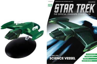 Eaglemoss Star Trek Romulan Science Vessel