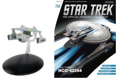 Eaglemoss Star Trek U.S.S Curry NCC 42254