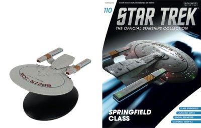 Eaglemoss Star Trek USS Chekov NCC-57302 Springfield Class