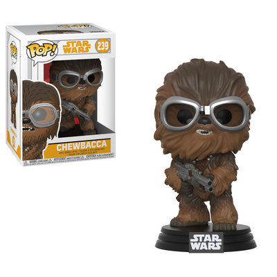Funko POP! Star Wars Han Solo Movie: 239 Chewbacca Met Bril