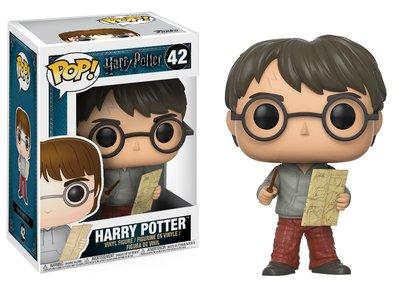 Funko POP! Movies Harry Potter -42 Harry Potter met Marauders kaart